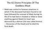 the 42 divine principles of the goddess maat3