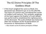 the 42 divine principles of the goddess maat4