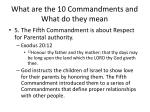 what are the 10 commandments and what do they mean14