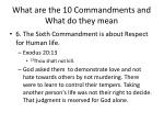 what are the 10 commandments and what do they mean16