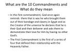 what are the 10 commandments and what do they mean2