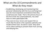what are the 10 commandments and what do they mean3