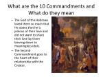 what are the 10 commandments and what do they mean6