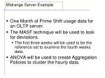 midrange server example