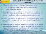 evaluaci n preliminar del riesgo de inundaci n contenido