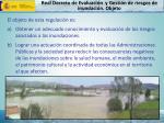 real decreto de evaluaci n y gesti n de riesgos de inundaci n objeto