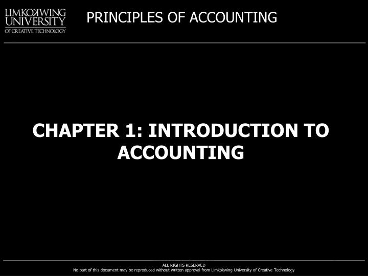 chapter 1 introduction to accounting n.