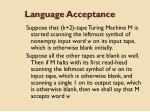language acceptance