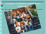 academy of business and finance graduates