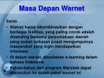 masa depan warnet8