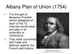 albany plan of union 1754