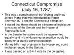 connecticut compromise july 16 1787
