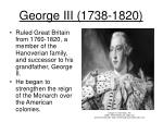 george iii 1738 1820