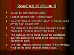 issuance at discount
