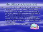 ems trauma assessment