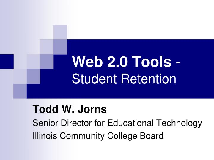 web 2 0 tools student retention n.