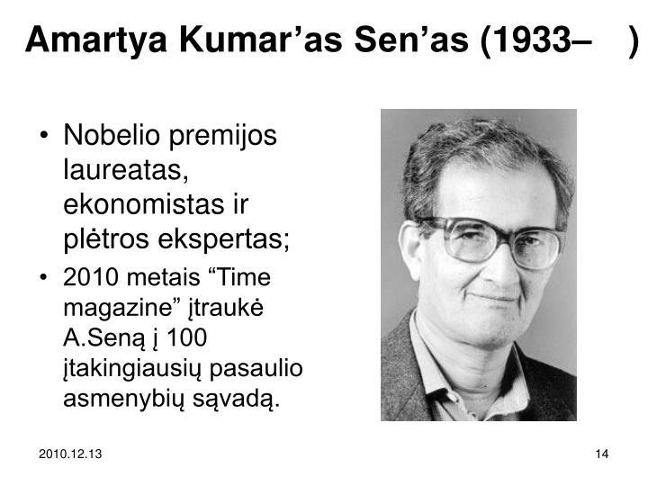 Amartya Kumar