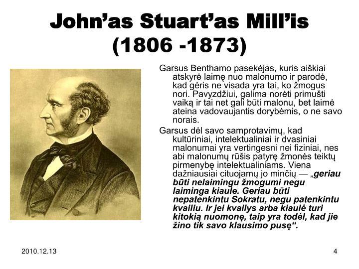 John'as Stuart'as Mill'is
