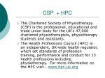 csp hpc