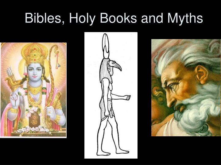 bibles holy books and myths n.
