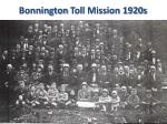 bonnington toll mission 1920s