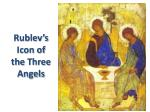 rublev s icon of the three angels