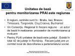 unitatea de baz pentru monitorizarea prai este regiune a