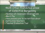 4628 other prohibited areas of collective bargaining