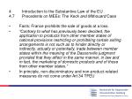 4 introduction to the substantive law of the eu 4 7 precedents on mees the keck and mithouard case