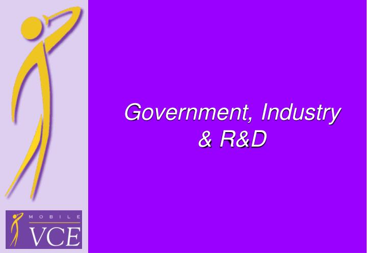 government industry r d n.