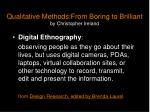 qualitative methods from boring to brilliant by christopher ireland10