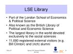 lse library