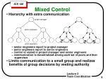 mixed control