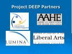 project deep partners