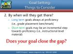 goal setting things to consider1