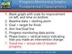 progress monitoring graphs fundamental characteristics6