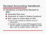 revised accounting handbook