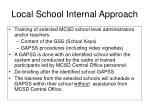 local school internal approach
