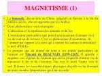 magnetisme 1