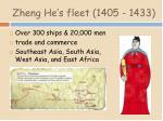 zheng he s fleet 1405 1433