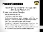 parents guardians