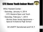 stc home youth indoor meets