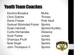 youth team coaches