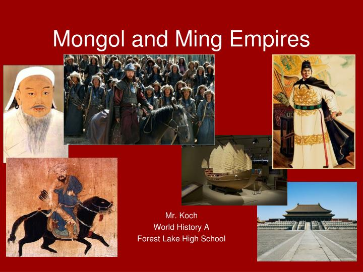 mongol and ming empires n.