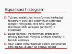 equalisasi histogram