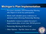 michigan s plan implementation1