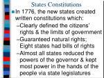 states constitutions