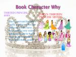 book character why