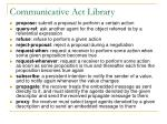 communicative act library1
