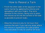 how to reseal a tank3